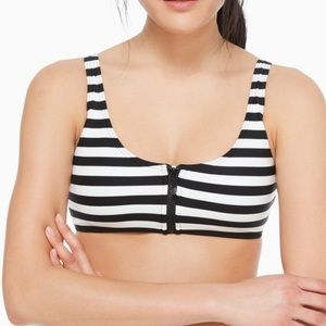 Black and white Kate Spade swim suit top